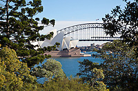 Sydney Opera and Bay Bridge, Australia