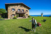 Lurdeia Hotel Rural. Sollube Mount. Bermeo. Urdaibai Region. Bizkaia. Basque Country. Spain.