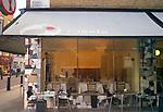Exterior, Sign, Cigala Restaurant, Covent Garden, London, Great Britain, Europe