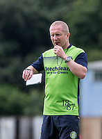 Assistant manager Richard Dobson during the Wycombe Wanderers 2016/17 Pre Season Training Session at Wycombe Training Ground, High Wycombe, England on 1 July 2016. Photo by Andy Rowland / PRiME Media Images.