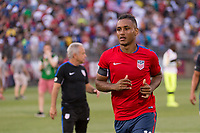 East Hartford, CT - Saturday July 01, 2017: Juan Agudelo during an international friendly match between the men's national teams of the United States (USA) and Ghana (GHA) at Pratt & Whitney Stadium at Rentschler Field.