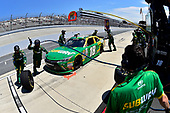 NASCAR XFINITY Series<br /> One Main Financial 200<br /> Dover International Speedway, Dover, DE USA<br /> Saturday 3 June 2017<br /> Daniel Suarez, Subway Toyota Camry, makes a pit stop.<br /> World Copyright: John K Harrelson<br /> LAT Images<br /> ref: Digital Image 17DOV1jh_04775