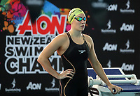 Sophie Pascoe, 100m Backstroke PARA. Session 2 of the AON New Zealand Swimming Champs, National Aquatic Centre, Auckland, New Zealand. Tuesday 6 April 2021 Photo: Simon Watts/www.bwmedia.co.nz