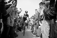 Fabian Cancellara (CHE/TrekFactoryRacing) off to the start<br /> <br /> Gent-Wevelgem 2014