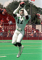 Steve Johnson Saskatchewan Roughriders 1984. Photo F. Scott Grant
