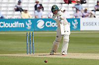 Lyndon James in batting action for Nottinghamshire during Essex CCC vs Nottinghamshire CCC, LV Insurance County Championship Group 1 Cricket at The Cloudfm County Ground on 3rd June 2021