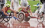 Josh Cassidy, Toronto 2015 - Para Athletics // Para-athlétisme.<br /> Josh Cassidy competes in the Men's 5000m T54 event // Josh Cassidy participe à l'épreuve masculine du 5000 m T54. 10/08/2015.
