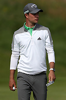 15th July 2021; Royal St Georges Golf Club, Sandwich, Kent, England; The Open Championship, PGA Tour, European Tour Golf , First Round : Guido Migliozzi (ITA) on the green at the second hole