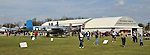 Gathering of B-25's at Grimes Field in Urbana, Ohio contiues on Monday, April 16, 2012