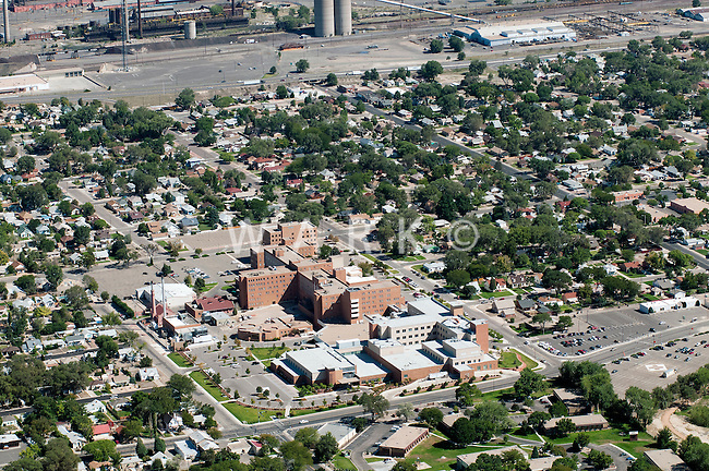 aerial view of Saint Mary Corwin hospital