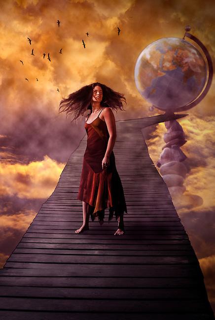 Photo manipulated art, concept image.<br /> Model, Karen Rémy <br /> http://www.myspace.com/karenremy