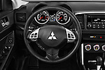 Car pictures of steering wheel view of a 2016 Mitsubishi Lancer ES-CVT 4 Door Sedan Steering Wheel