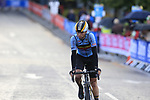 Stan Van Tricht (BEL) arrives into Harrogate for the first time during the Men U23 Road Race of the UCI World Championships 2019 running 186.9km from Doncaster to Harrogate, England. 27th September 2019.<br /> Picture: Eoin Clarke | Cyclefile<br /> <br /> All photos usage must carry mandatory copyright credit (© Cyclefile | Eoin Clarke)