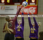 Custer at Lead-Deadwood High School Volleyball