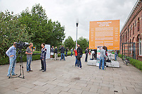 12-09-12, Netherlands, Amsterdam, Tennis, Daviscup Netherlands-Swiss, Press-conference Netherlands,