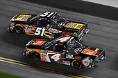2017 Camping World Truck - NextEra Energy Resources 250<br /> Daytona International Speedway, Daytona Beach, FL USA<br /> Friday 24 February 2017<br /> Christopher Bell and Myatt Snider<br /> World Copyright: Nigel Kinrade/LAT Images<br /> ref: Digital Image 17DAY2nk10630