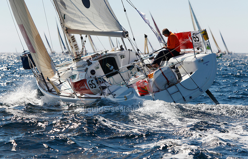 Depart de la WOW Cap Istanbul..ST-Ericsson 65.Louis Maurice Tannyeres