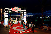 Presentation ceremony of the rally with Portuguese anthem sung by Cuca Roseta during WRC Vodafone Rally de Portugal 2013, in Algarve, Portugal on April 11, 2013 (Photo Credits: Paulo Oliveira/DPI/NortePhoto)
