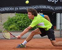 10-08-13, Netherlands, Rotterdam,  TV Victoria, Tennis, NJK 2013, National Junior Tennis Championships 2013,  Casper Bonapart, winner boys 16 years<br /> <br /> Photo: Henk Koster