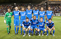 San Jose Earthquakes Starting Eleven. The Houston Dynamo defeated the San Jose Earthquakes 1-0 at Buck Shaw Stadium in Santa Clara, California on October 16th, 2010.