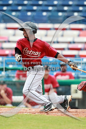 Houston Astros minor league second baseman Joshua Magee (13) during a game vs. the Chinese National Team in an Instructional League game at Holman Stadium in Vero Beach, Florida September 28, 2010.   Photo By Mike Janes/Four Seam Images