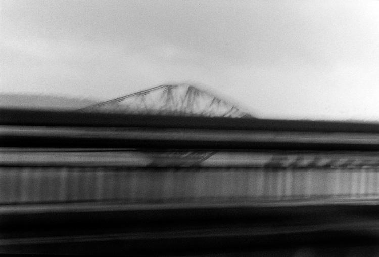 © John Angerson<br /> Forth road bridge Scotland