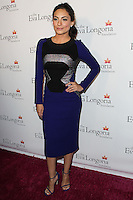 HOLLYWOOD, LOS ANGELES, CA, USA - OCTOBER 09: Ana Brenda Contreras arrives at the Eva Longoria Foundation Dinner held at Beso Restaurant on October 9, 2014 in Hollywood, Los Angeles, California, United States. (Photo by Celebrity Monitor)