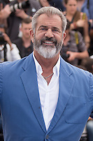 MEL GIBSON - CANNES 2016 - PHOTOCALL DU FILM 'BLOOD FATHER'