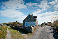 Borthwen, Cymyran Bay, Anglesey. Old lifeboat station converted to holiday home.