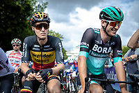 Belgian Champion Tim Merlier (BEL/Corendon Circus) at the race start. <br /> <br /> 99th Brussels Cycling Classic 2019<br /> One Day Race: Brussels > Brussels 189.4km<br /> <br /> ©kramon