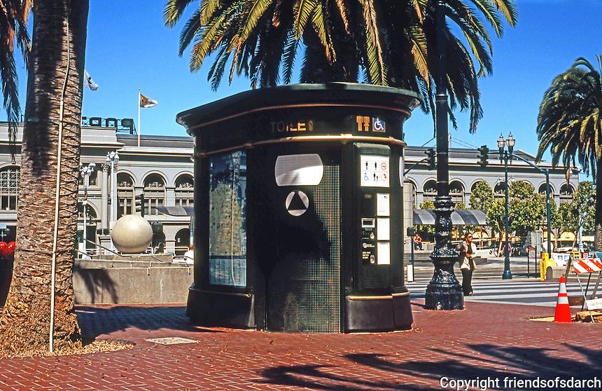 San Friancisco:  Street Furniture, Comfort Station, Ferry Building.