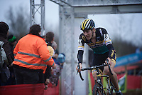 Toon Aerts (BEL/Telenet-Fidea) on his way to his first big pro win<br /> <br /> Soudal Classic Leuven 2016