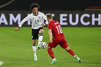 2nd June 2021, Tivoli Stadion, Innsbruck, Austria; International football friendly, Germany versus Denmark; Leroy Sane 19 Germany and Christian Eriksen 10 Denmark