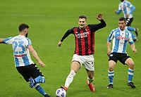 Milano 14-03-2021<br /> Stadio Giuseppe Meazza<br /> Serie A  Tim 2020/21<br /> Milan - Napoli<br /> Nella foto: Diogo Dalot                                     <br /> Antonio Saia