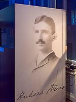 Nikola-Tesla-Museum, Krunska 51, Belgrad, Serbien, Europa<br /> Nikola-Tesla-Museum, Krunska 51,, Belgrade, Serbia, Europe