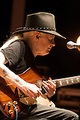 Johnny Winter plays the blues at Bamfest  in Belleville Wisconsin on July 14, 2007 just south of Madison