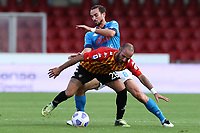Fabian Ruiz of SSC Napoli and Pasquale Schiattarella of Benevento Calcio compete for the ball<br /> during the Serie A football match between Benevento Calcio and SSC Napoli at stadio Ciro Vigorito in Benevento (Italy), October 25th, 2020. <br /> Photo Cesare Purini / Insidefoto