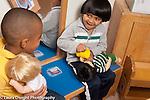Education preschool first days of school