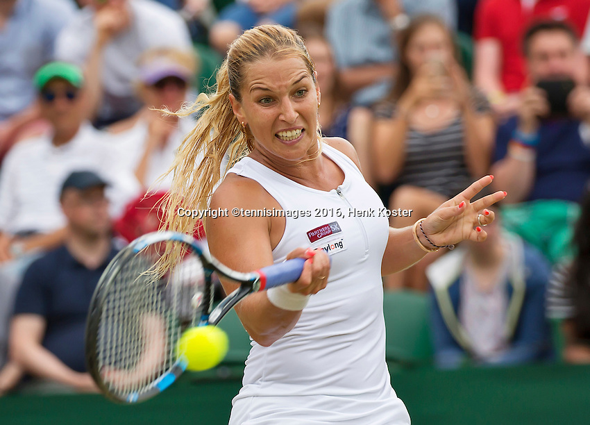 London, England, 4th July, 2016, Tennis, Wimbledon, Dominika Cibulkova (SVK) <br /> Photo: Henk Koster/tennisimages.com