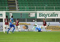 Milano  21-04-2021<br /> Stadio Giuseppe Meazza<br /> Serie A  Tim 2020/21<br /> Milan - Sassuolo<br /> Nella foto: Raspadori 1 1                                     <br /> Antonio Saia Kines Milano
