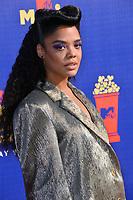 SANTA MONICA, USA. June 16, 2019: Tessa Thompson at the 2019 MTV Movie & TV Awards at Barker Hangar, Santa Monica.<br /> Picture: Paul Smith/Featureflash
