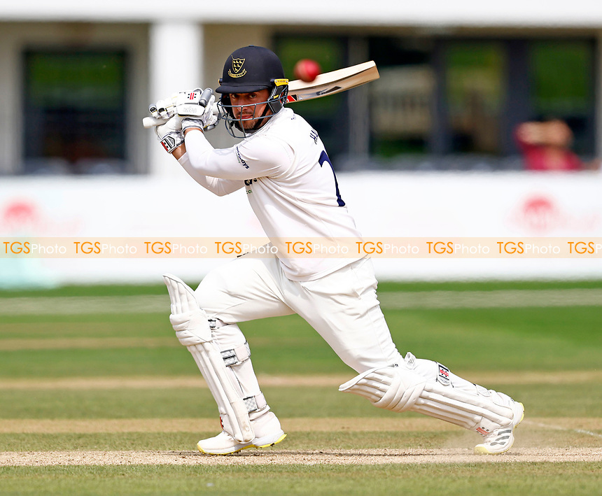 Tom Haines hits out for Sussex during Kent CCC vs Sussex CCC, LV Insurance County Championship Group 3 Cricket at The Spitfire Ground on 13th July 2021