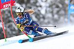 FIS Alpine Ladies Ski World Cup 2021 . Kronplatz, Plan De Corones, Italy on January 26, 2021. In action  Roberta Melesi