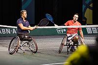 Rotterdam, The Netherlands, 4 march  2021, ABNAMRO World Tennis Tournament, Ahoy, First round wheelchair: <br /> Tom Egberink (NED) vs. Nicolas Peifer (FRA).<br /> Photo: www.tennisimages.com/