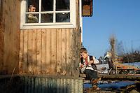 UKRAINE, 08.2006, Kosmach. Huzulen, Volk der Karpaten. | Hutsuls - People of the Carpathians..© Cyril Horiszny/EST&OST