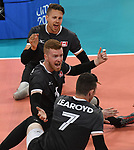 Doug Learoyd, Bryce Foster, and Jesse Ward, Lima 2019 - Sitting Volleyball // Volleyball assis.<br />