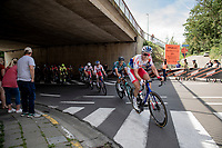 Niki Terpstra (NED/TotalEnergies) chasing down the breakaway <br /> <br /> 55th Grote Prijs Jef Scherens - Rondom Leuven 2021 (BEL)<br /> <br /> One day race from Leuven to Leuven (190km)<br /> ridden over the final circuit of the 2021 World Championships road races <br /> <br /> ©kramon