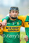 Tomás O'Connor, Kerry before the National hurling league between Kerry v Down at Austin Stack Park, Tralee on Sunday.