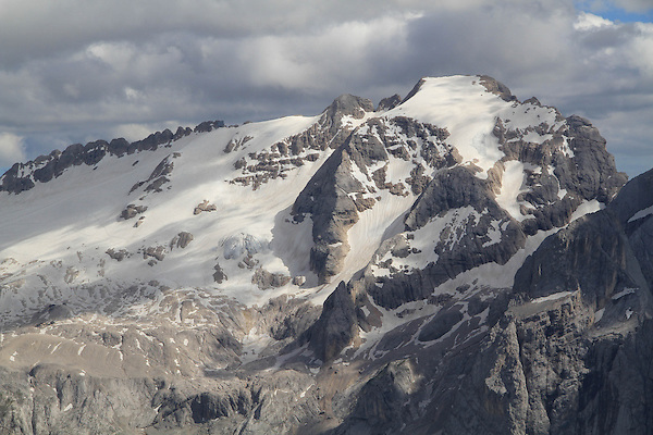 Mount Marmolada, Dolomites, northern Italy, Europe.
