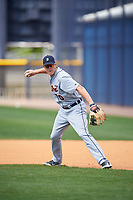 Detroit Tigers Josh Lester (70) during practice before a minor league Spring Training game against the New York Yankees on March 22, 2017 at the Yankees Complex in Tampa, Florida.  (Mike Janes/Four Seam Images)